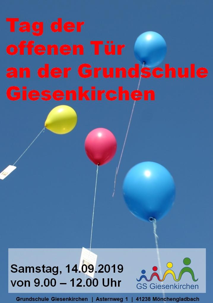 Einladung zum Tag der offenen Tür © Grundschule Giesenkirchen